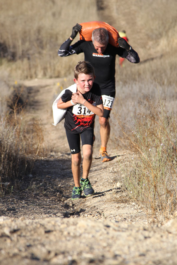 Trail Race with Obstacles