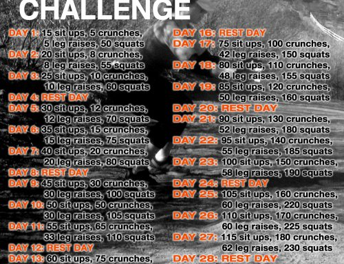 30 Day ABSolute SQUAT Challenge begins April 1st